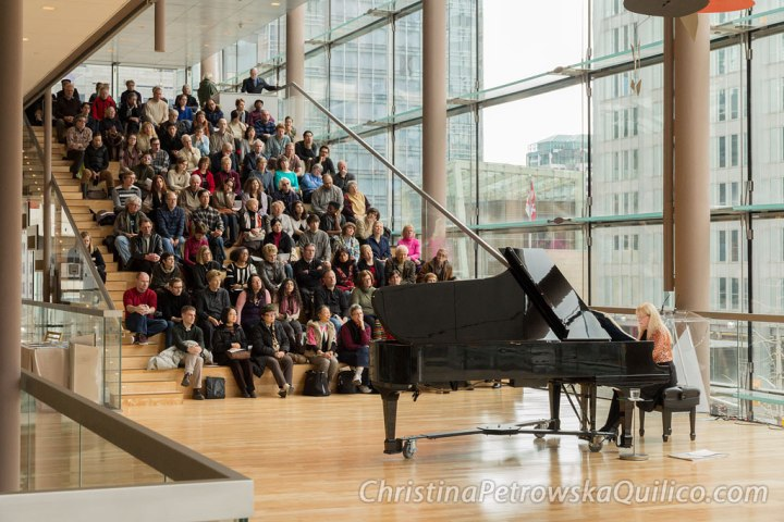 Christina Petrowska Quilico performs music of 20th century women composers