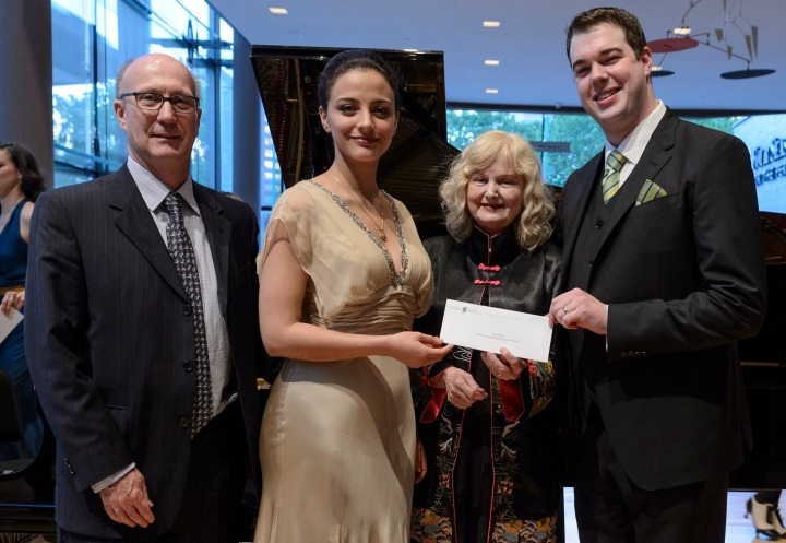 Personal Philanthropy: Christina and Louis Quilico Awards