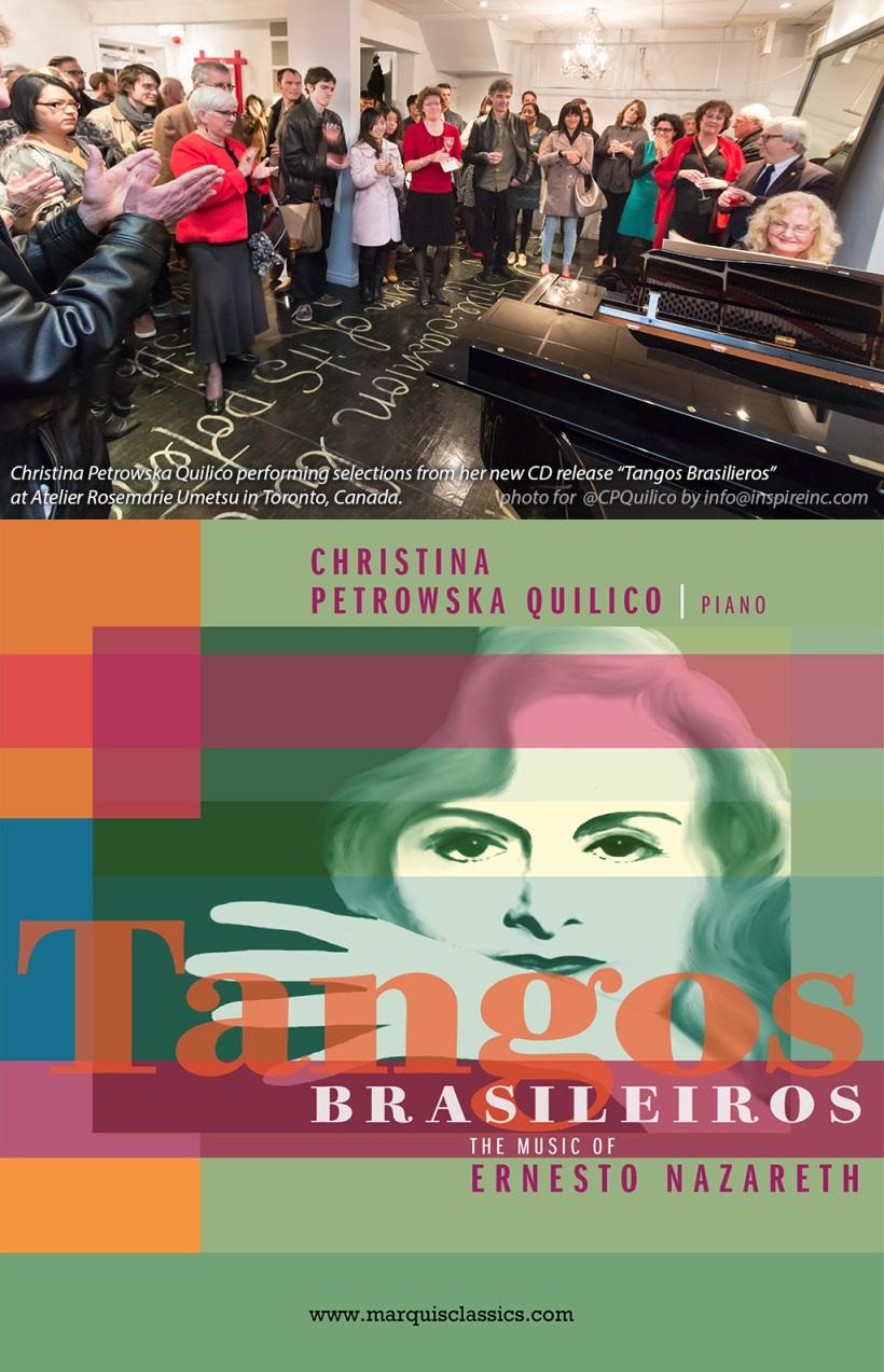 Marquis Classics Tango Brasileiros CD Launch