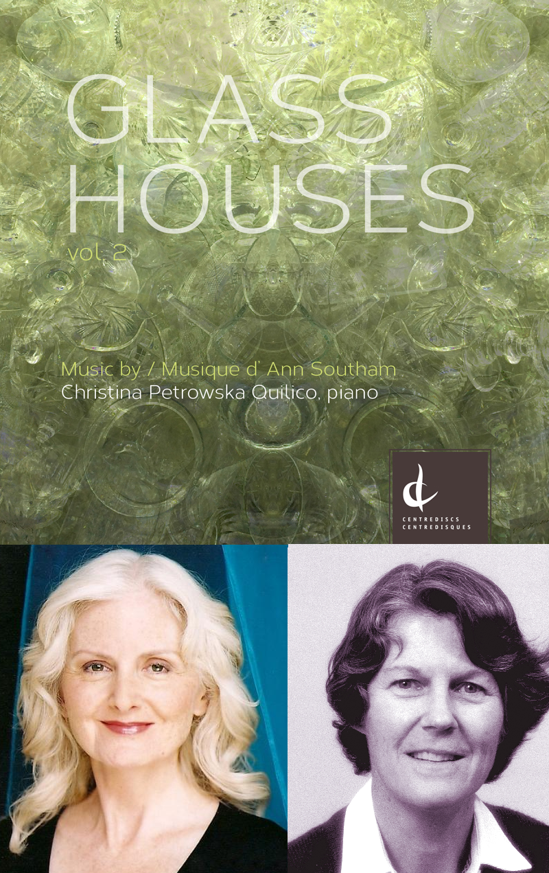 Glass Houses Vol. 2 CD Launch on April 22nd at the Canadian Music Centre